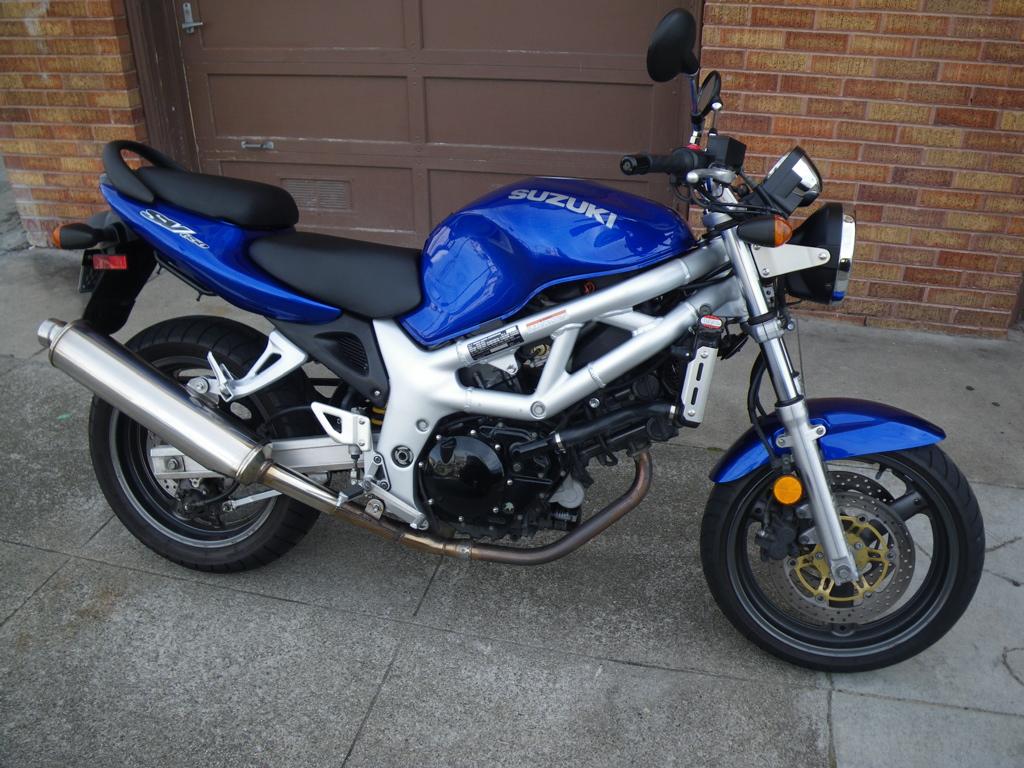 Suzuki Sv Naked 100