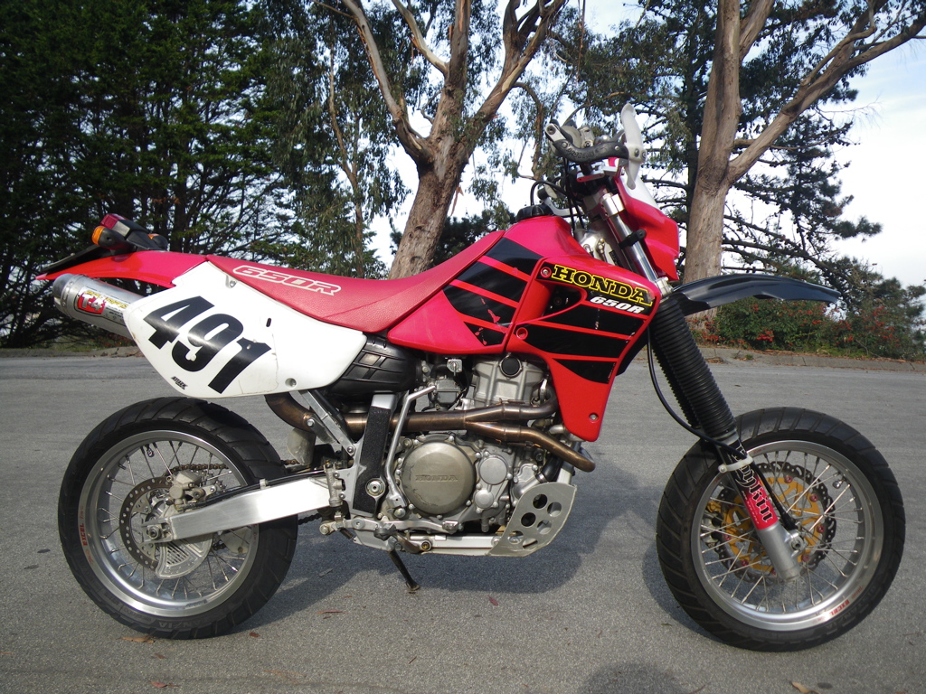 Xr650r Supermoto Kit 2000 Honda Xr650r Supermoto